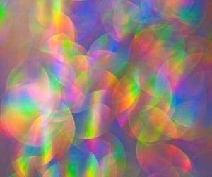 holographic, rainbow, and rainbows image
