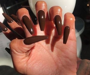 nails, fashion nails, and color nails image