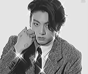 gif, kpop edit, and jungkook gif image