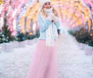 light pink, soft colors, and pastel color combination image