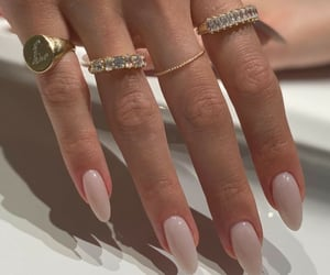 accessories, rings, and manicure image