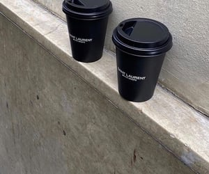 aesthetic, black, and coffee image