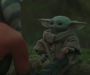 star wars, the child, and grogu image