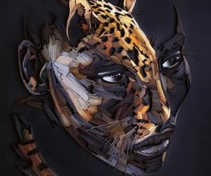 art, paper art, and artwork image