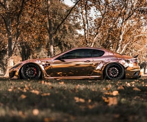 car, vehicle, and rose gold image