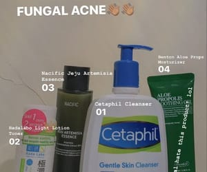 sensitive skin, skincare routine, and fungal acne image