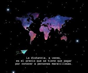 amistad, distancia, and frases español image