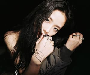 k-pop, blackpink, and kim image
