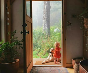 baby, countryside, and ginger image