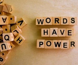 energy, Powerful, and words image