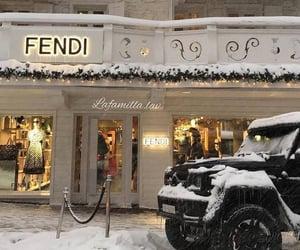 fendi, luxury, and winter image