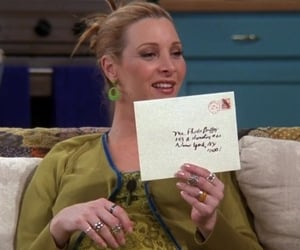 phoebe buffay at the one with the invitation