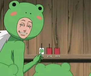 anime, naruto, and frog image