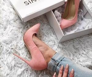 fashion, high heel, and high heels image