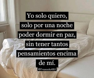dormir, frases, and insomnio image