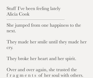 poems, quotes, and heart break image