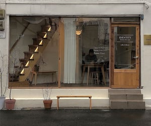 coffee shop and aesthetic image