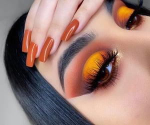 beauty, eyes, and nails image