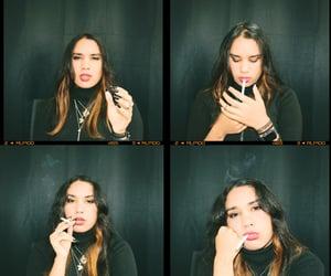 photo, smoking, and cigarrillo image
