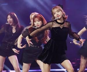 kpop, kim chaewon, and yabuki nako image
