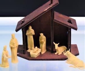 etsy, christmas nativity, and gotvintage image