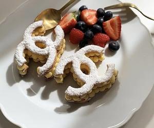 food, chanel, and dessert image
