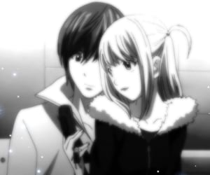 anime, deathnote, and death note image