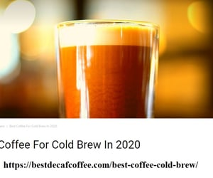 best coffee for cold brew image