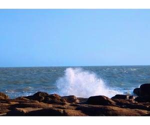 landscape, splatter, and water image