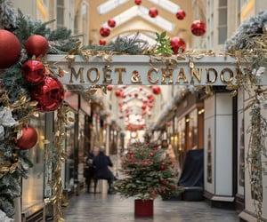 brand, champagne, and christmas image