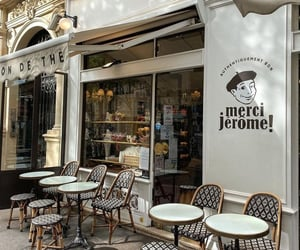 paris, background, and cafe image