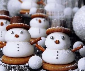 winter, christmas, and food image