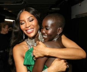 models, supermodels, and Naomi Campbell image