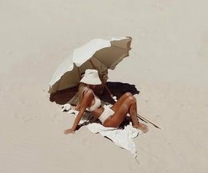beach, bikini, and chill image