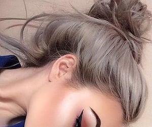 beautiful, eye, and eye makeup image