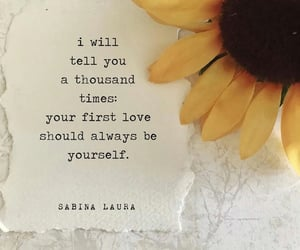 first, poems, and loveyourself image