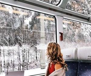 christmas, snow, and swiss alps image