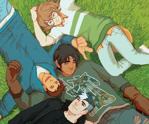 friendship, friends, and hunk image