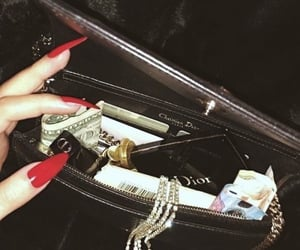 aesthetic, dior, and nails image