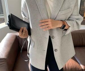 blazer, casual, and fashion image