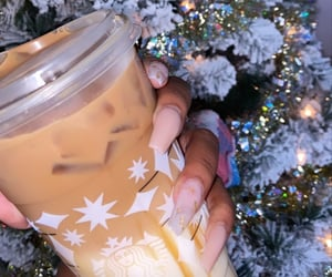 beverages, christmas, and coffee image