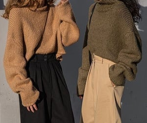 colours, outfit, and sweater image