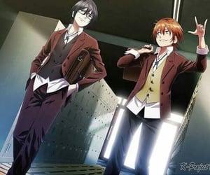 anime, anime boys, and K image