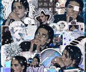 blue, edit, and grunge image