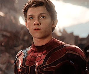 Avengers, spiderman, and gif image