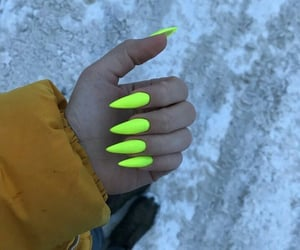girls, nails, and love image
