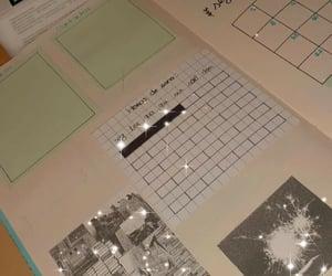 agenda, planner, and handmade image