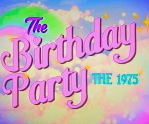 birthday, the 1975, and party image