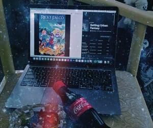 coca cola, xmas tree, and urban fantasy image