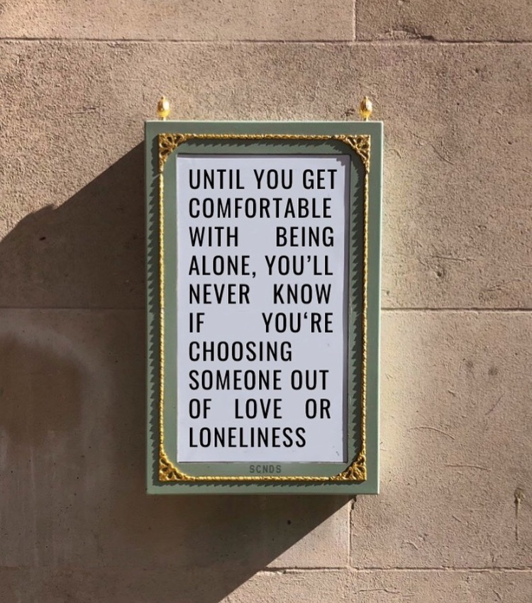 comfortable, loneliness, and love image